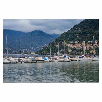 Italian Harbor Coastal Decorative Doormat