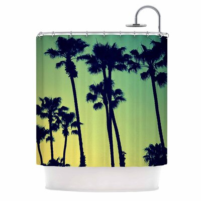 Ocean Blvd Cruisin Shower Curtain
