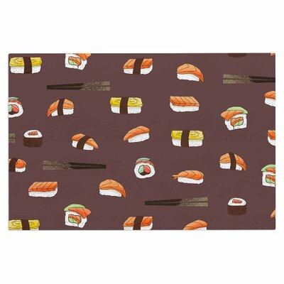 Sushi Pattern Doormat