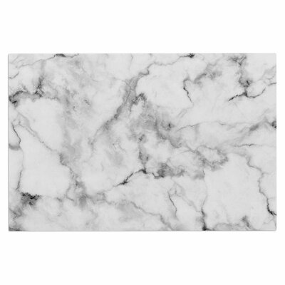 White Marble Doormat
