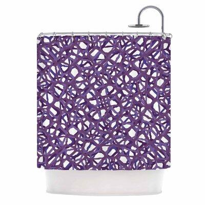 Vino Vector Shower Curtain