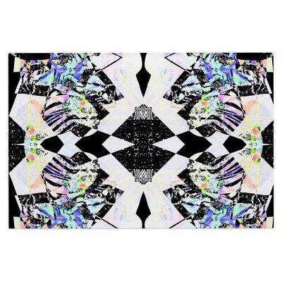 Abstract Zebra Doormat