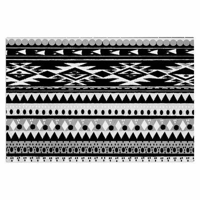 Black Hurit Doormat