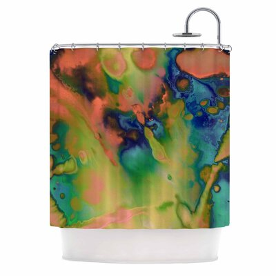 Acid Splash Down Shower Curtain