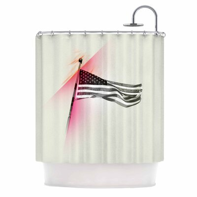 Capture the Flag Shower Curtain