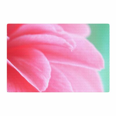 Alison Coxon Camellia Pink/Greeen Area Rug Rug Size: 2 x 3