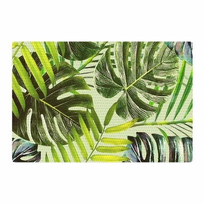 Alison Coxon Jungle Green/Yellow Area Rug Rug Size: 4 x 6