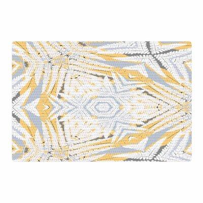 Alison Coxon Planthouse Saffron Yellow/Gray Area Rug Rug Size: 4 x 6