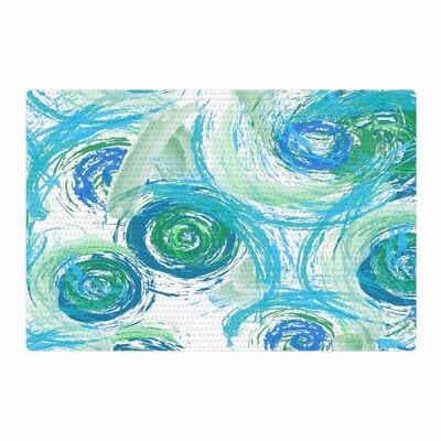 Alison Coxon Sophia Green/Blue Area Rug Rug Size: 4 x 6