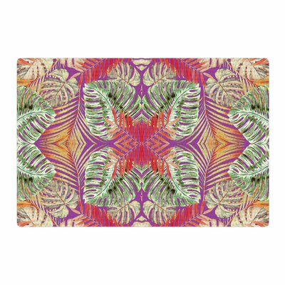 Alison Coxon Summer Jungle Love Purple/Green/Red Area Rug Rug Size: 4 x 6