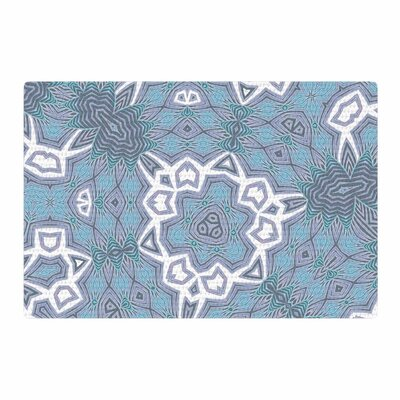 Alison Coxon Tribal Air Blue/White Area Rug Rug Size: 2 x 3