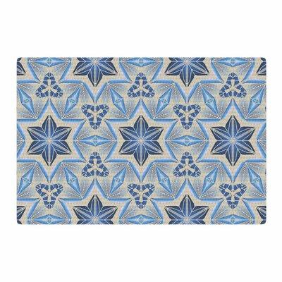 Angelo Cerantola Astral Beige/Blue Area Rug Rug Size: 4 x 6