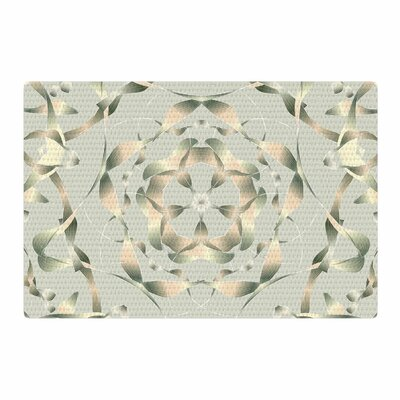 Angelo Cerantola Kingdom Digital Gold Area Rug Rug Size: 4 x 6