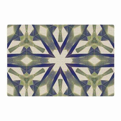 Angelo Cerantola Lymph Geometric Modern Gray/Dark Area Rug Rug Size: 4 x 6