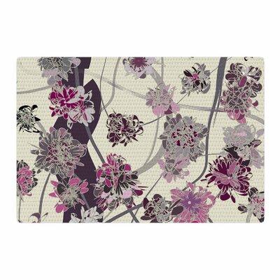 Angelo Cerantola Springtime Again Floral Pink Area Rug Rug Size: 4 x 6