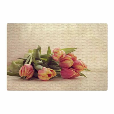Angie Turner Delicate Spring Photography Yellow Area Rug Rug Size: 2 x 3