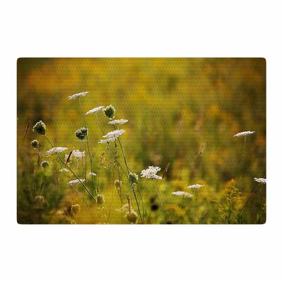 Angie Turner Hour Digital Golden/Nature Area Rug Rug Size: 2 x 3