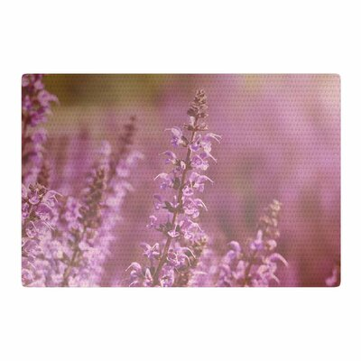 Angie Turner Growing Wild Lavender/Nature Area Rug Rug Size: 2 x 3
