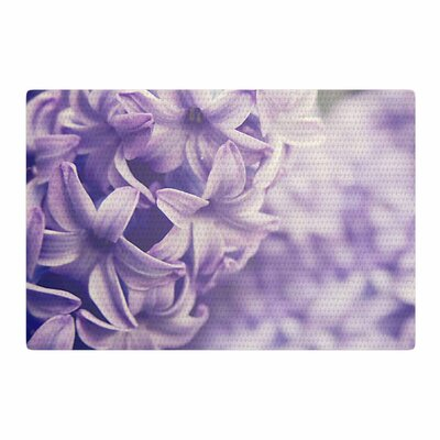 Angie Turner Lavender Dreams Purple/Lilac Area Rug Rug Size: 4 x 6