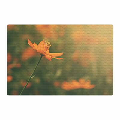 Angie Turner Cosmo Digital Floral Orange Area Rug Rug Size: 4 x 6