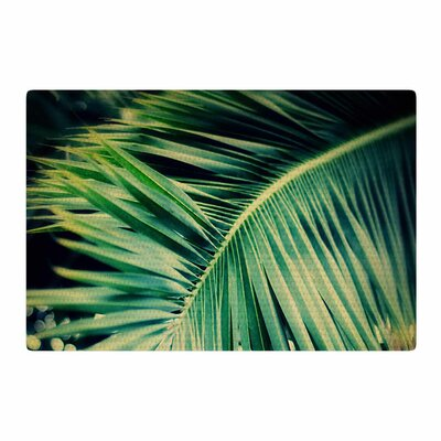 Angie Turner Palm Frond Green/Nature Area Rug Rug Size: 4 x 6