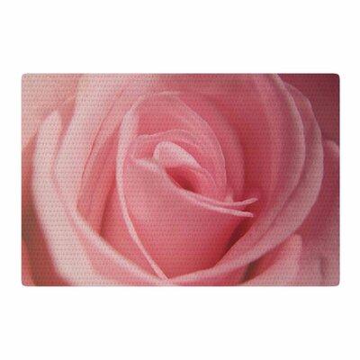 Angie Turner Soft Pink/Rose Area Rug Rug Size: 2 x 3