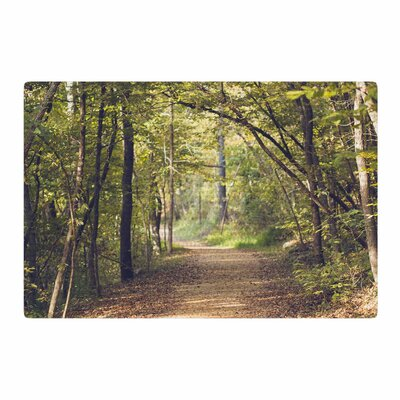 Ann Barnes Forest Light Photography Trees Green/Nature Area Rug Rug Size: 2 x 3