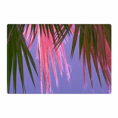 Ann Barnes Neon Jungle Purple/Green Area Rug Rug Size: 2 x 3