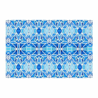 Art Love Passion Blue Diamonds Blue/Aqua Area Rug Rug Size: 2 x 3