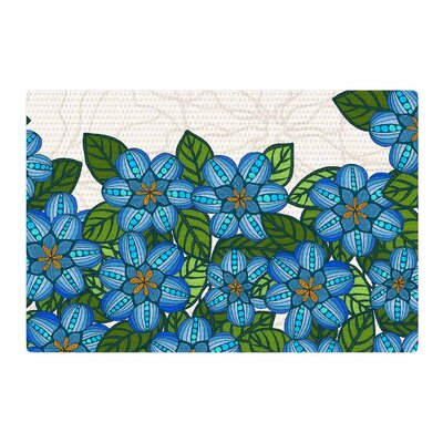 Art Love Passion Blue Flower Field Beige/Blue Area Rug Rug Size: 2 x 3