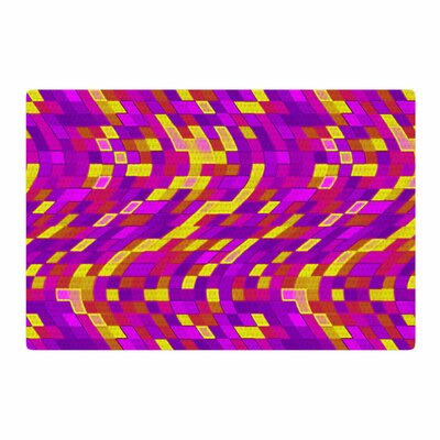 Artist Name Geometric Movement Tags Purple Area Rug Rug Size: 4 x 6