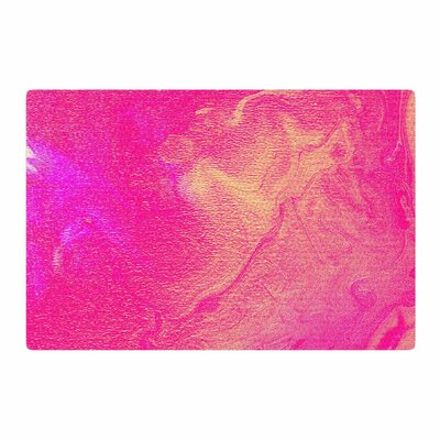 Ashley Rice AC1 Watercolor Pink Area Rug Rug Size: 2 x 3