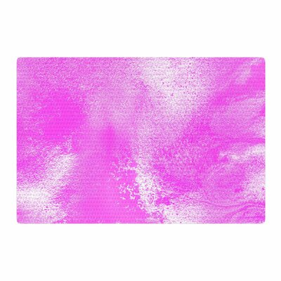 Ashley Rice AC5 Abstract Pink Area Rug Rug Size: 4 x 6