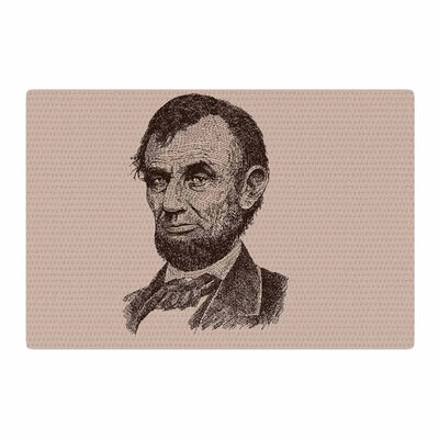 BarmalisiRTB Abraham Lincoln Vintage Brown Area Rug Rug Size: 2 x 3