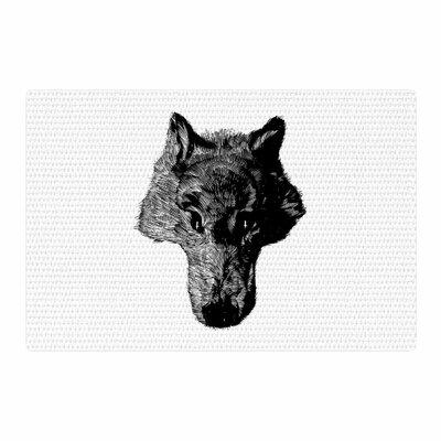 BarmalisiRTB Coyote Black/White Area Rug Rug Size: 2 x 3