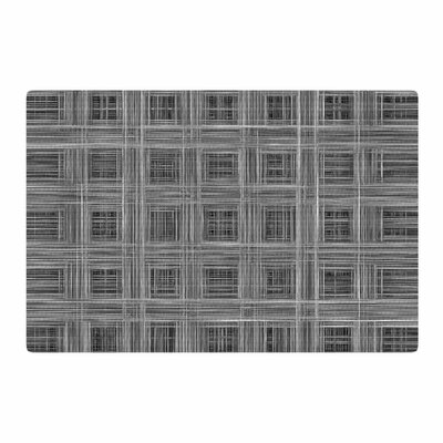Bruce Stanfield Ambient 10 Pattern Gray Area Rug Rug Size: 2 x 3