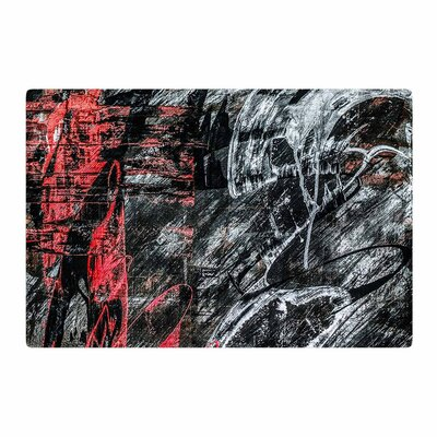 Bruce Stanfield Areus Abstract Red Area Rug Rug Size: 4 x 6