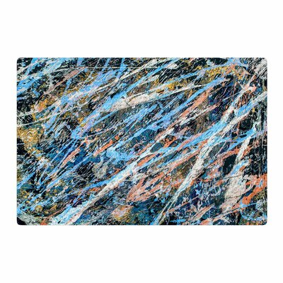 Bruce Stanfield Cobalt One Abstract Blue Area Rug Rug Size: 4 x 6