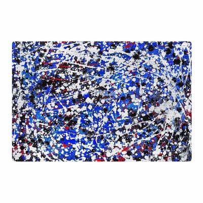 Bruce Stanfield Heiveilea Blue/Black Area Rug Rug Size: 2 x 3