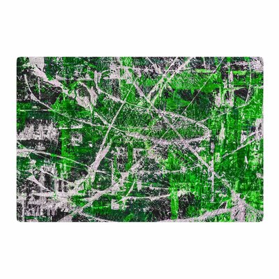 Bruce Stanfield Jade Painting Green Area Rug Rug Size: 2 x 3
