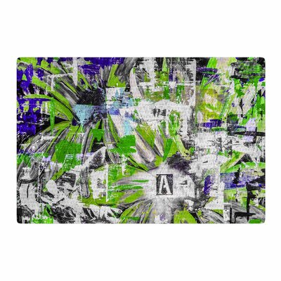 Bruce Stanfield Life Through Adversity 2 Abstract Green Area Rug Rug Size: 2 x 3