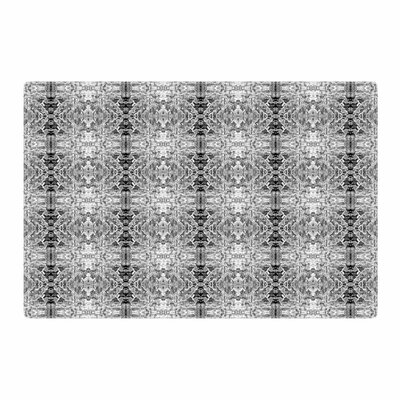 Bruce Stanfield Rage Against the Machine BW Black/White Area Rug Rug Size: 4 x 6
