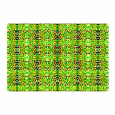 Bruce Stanfield Rage Against the Machine Pattern Green Area Rug Rug Size: 4 x 6