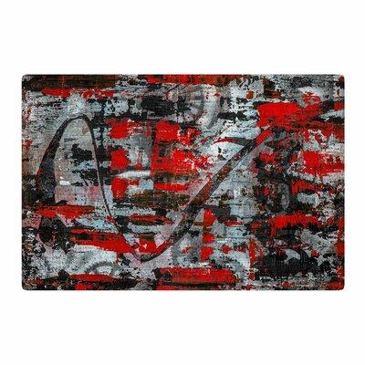 Bruce Stanfield Zinger Black Area Rug Rug Size: 2 x 3