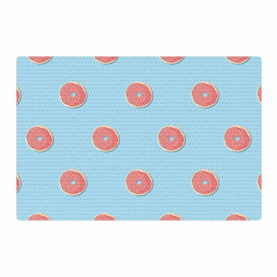 Busy Bree Donut Dreams Food Coral Area Rug Rug Size: 2 x 3