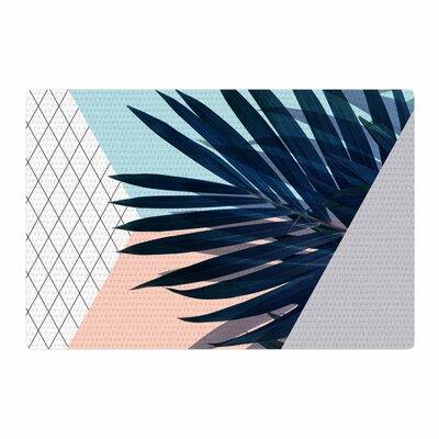 Cafelab Pastel Geometry Peach/Blue Area Rug Rug Size: 4 x 6
