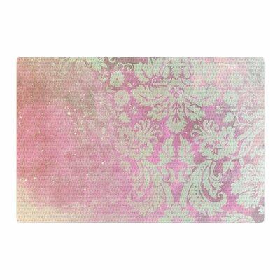 Cafelab Spring Damask Pink/White Area Rug Rug Size: 4 x 6