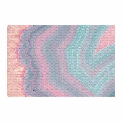 Cafelab Sweet Pastel Agate Pink/Blue Area Rug Rug Size: 2 x 3