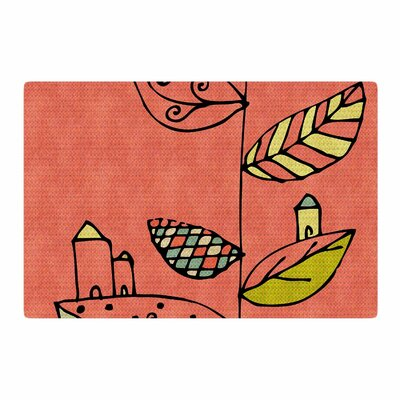 Carina Povarchik Be You Kids Coral Area Rug Rug Size: 4 x 6