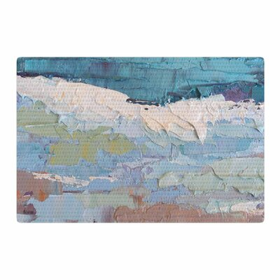Carol Schiff Surf Dreams Painting Blue Area Rug Rug Size: 2 x 3